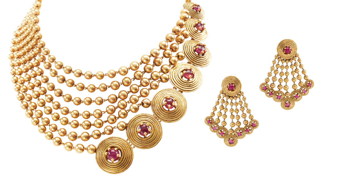 Azva Gold Set | Gems and jewels | Pinterest | Gold set, Gold and ...