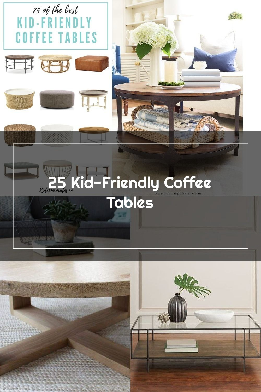 Love These 25 Kid Friendly Coffee Tables Howtodecorate