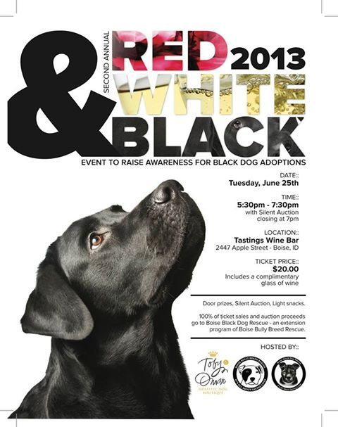 Clever Wine Poster For Black Dog Adoption Event With Images