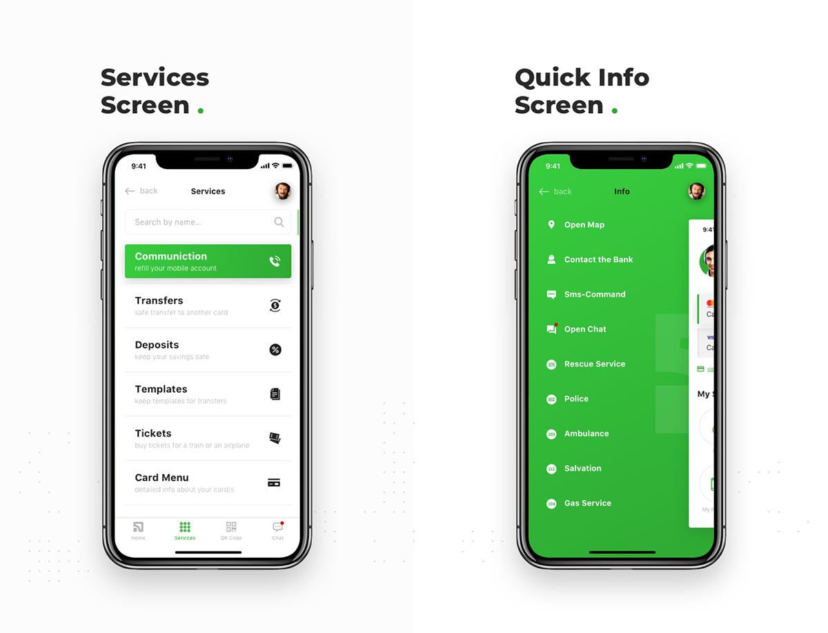 Privat Bank Mobile App Design Concept On Behance Mobile App Design App Design Mobile App