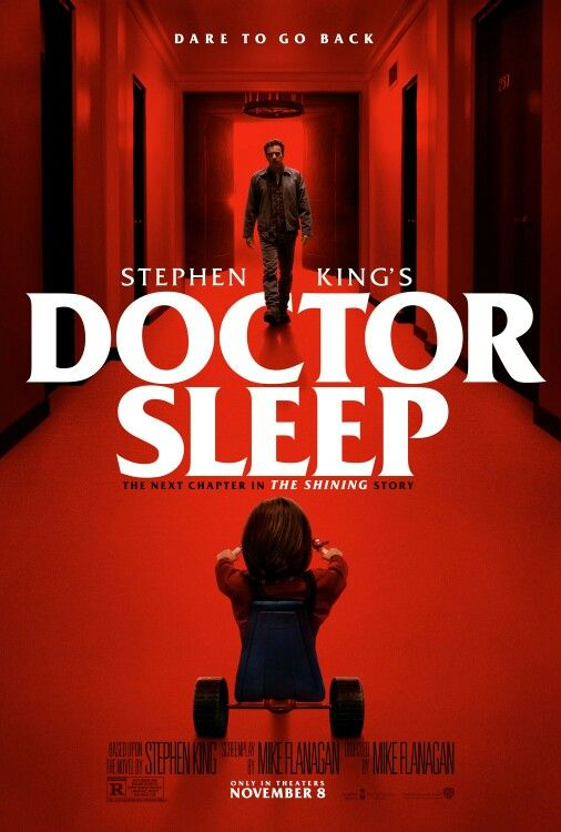 New Official Poster For Doctor Sleep 2019 Dir Mike Flanagan