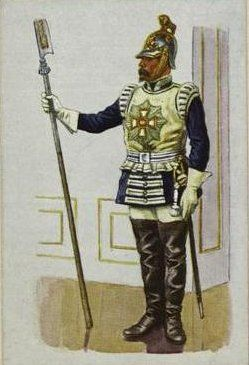 Hartschier (Kingdom of Bavaria) - Hartschier - Wikipedia | Military  soldiers, Military uniform, Bavarian army