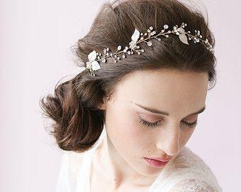 Crystal rhinestone bridal headband Crystal dazzle wave by myrakim