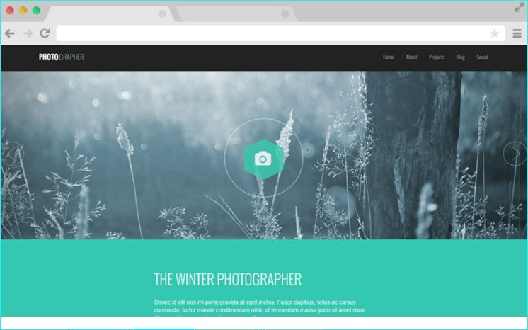 Free Responsive HTML Photography Template Free Responsive HTML - Free html photography website templates