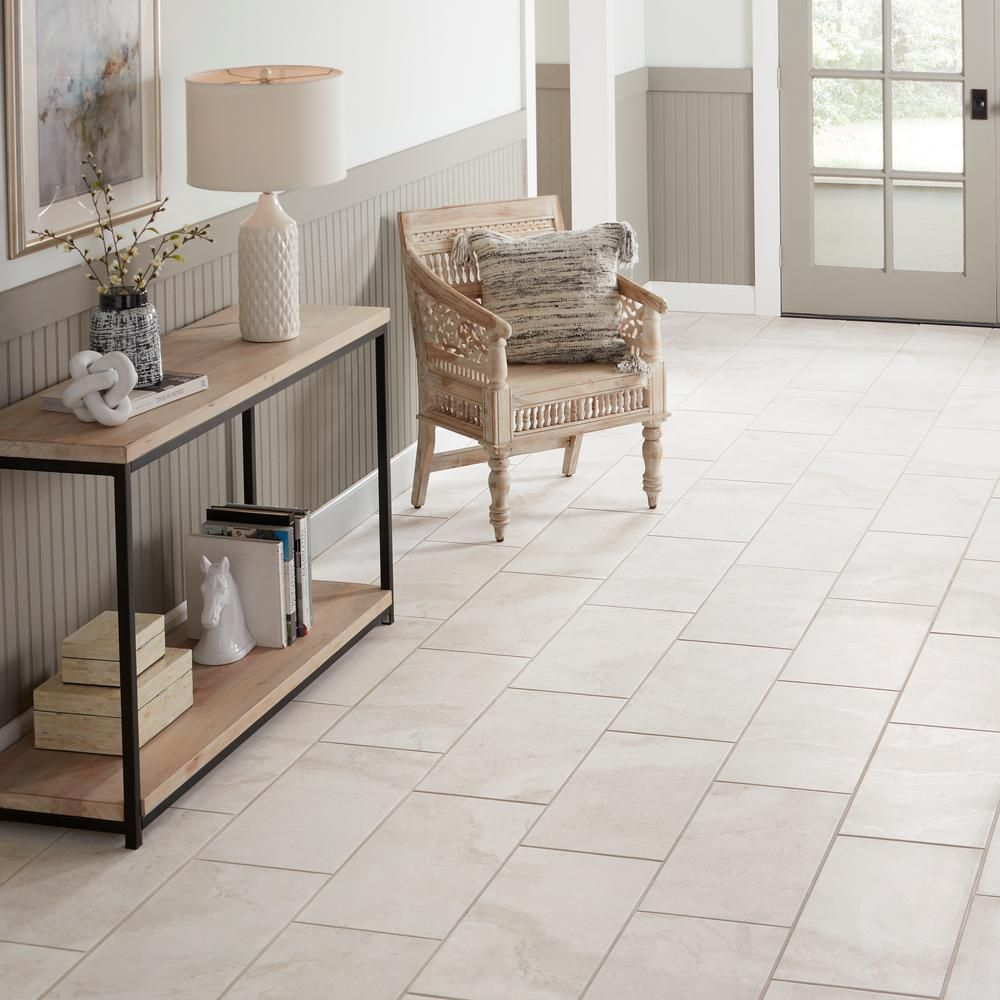 Daltile Canyon Gate Oyster White Matte 12 In X 24 In Glazed Porcelain Floor And Wall Tile 15 6 Sq Ft Case Cg301224hd1p6 The Home Depot Daltile Porcelain Flooring Wall Tiles