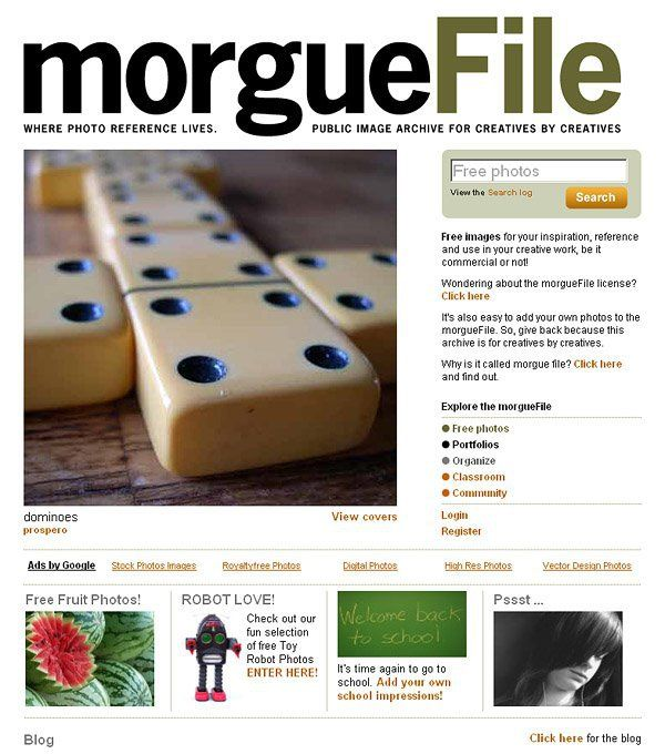 Morguefile - Free Photos For Creatives By Creatives | Free