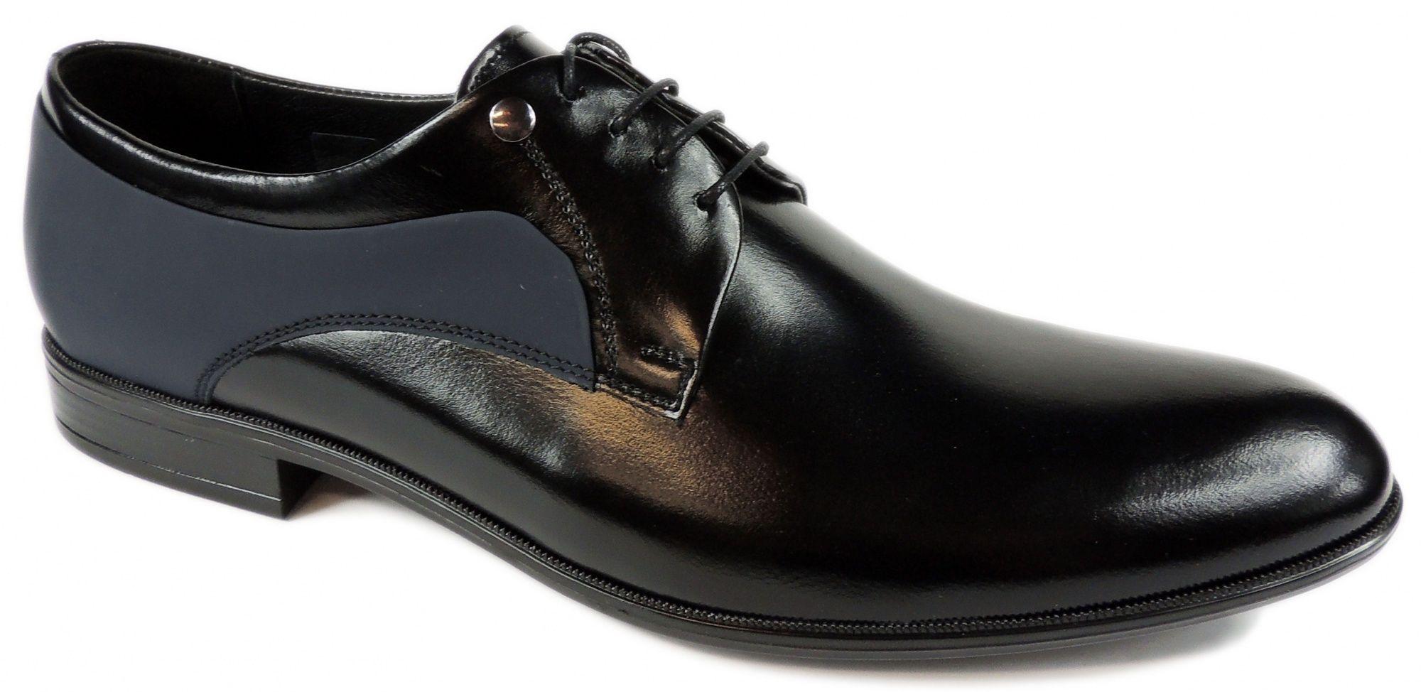 Polbuty 1750355m Wizytowe Intershoe Com Pl Dress Shoes Men Dress Shoes Oxford Shoes