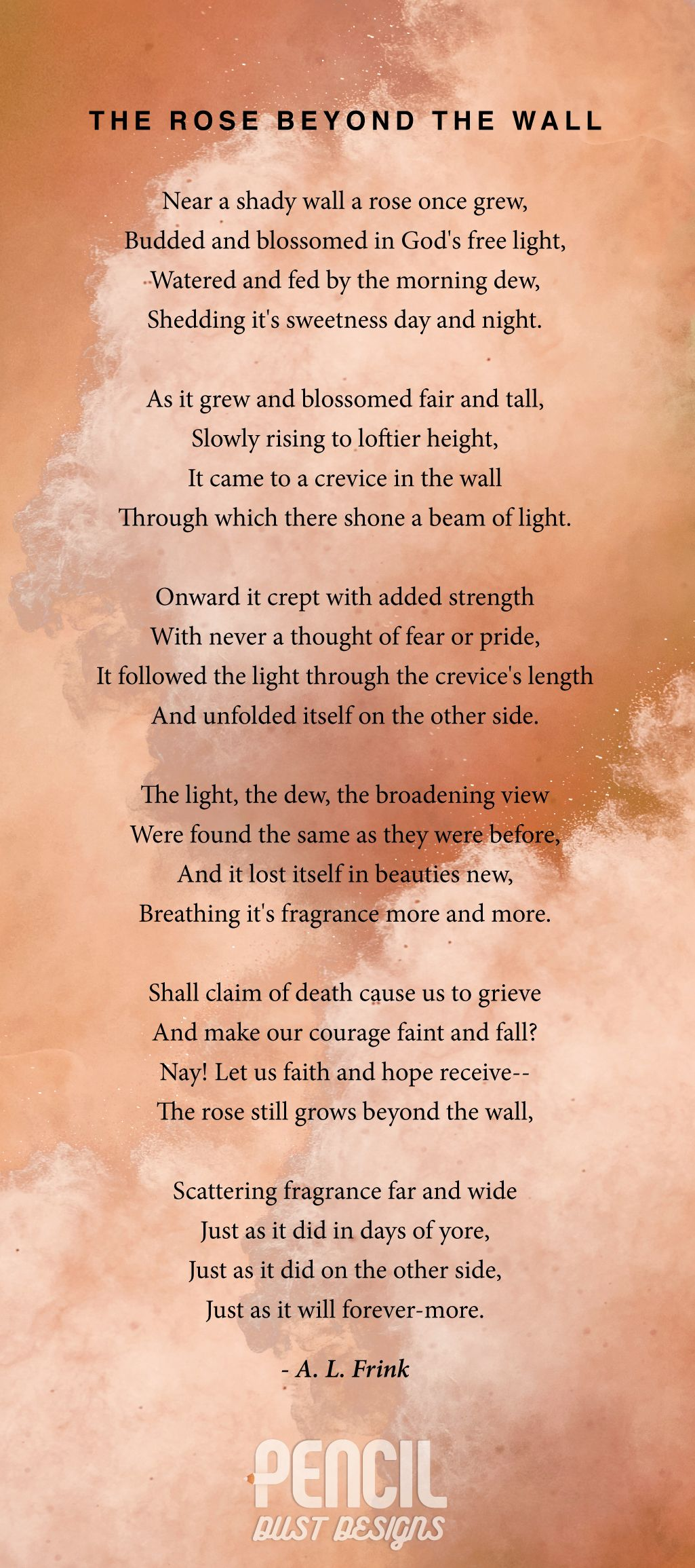 the light of other days poem