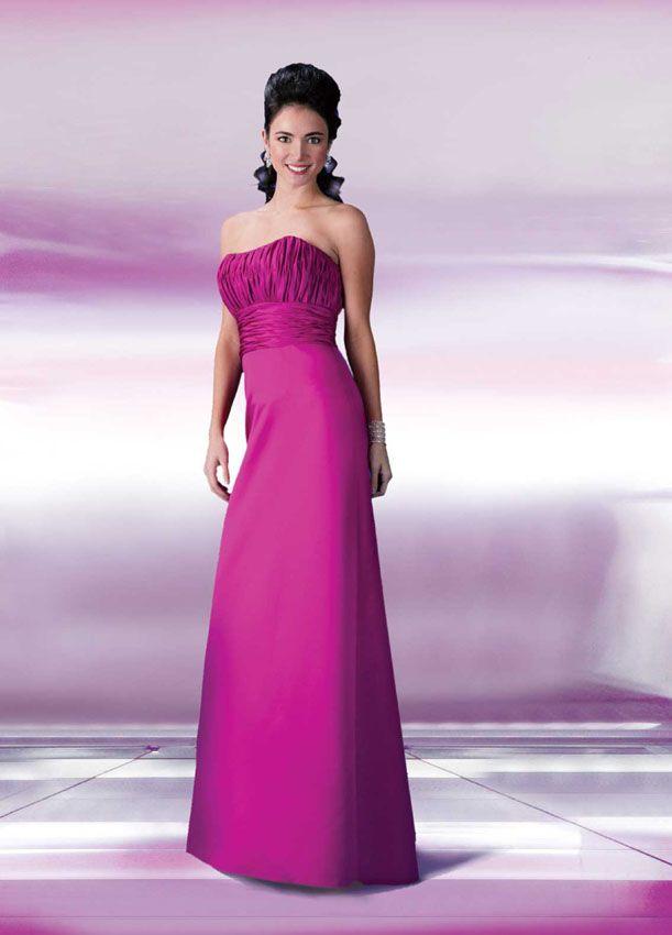 Da Vinci Bridesmaid 9142 Fabric Satin #timelesstreasure | Bridesmaid ...