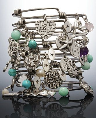 Unwritten Stackable Charm Bangle Bracelet Gift Collection Jewelry Watches Macy S