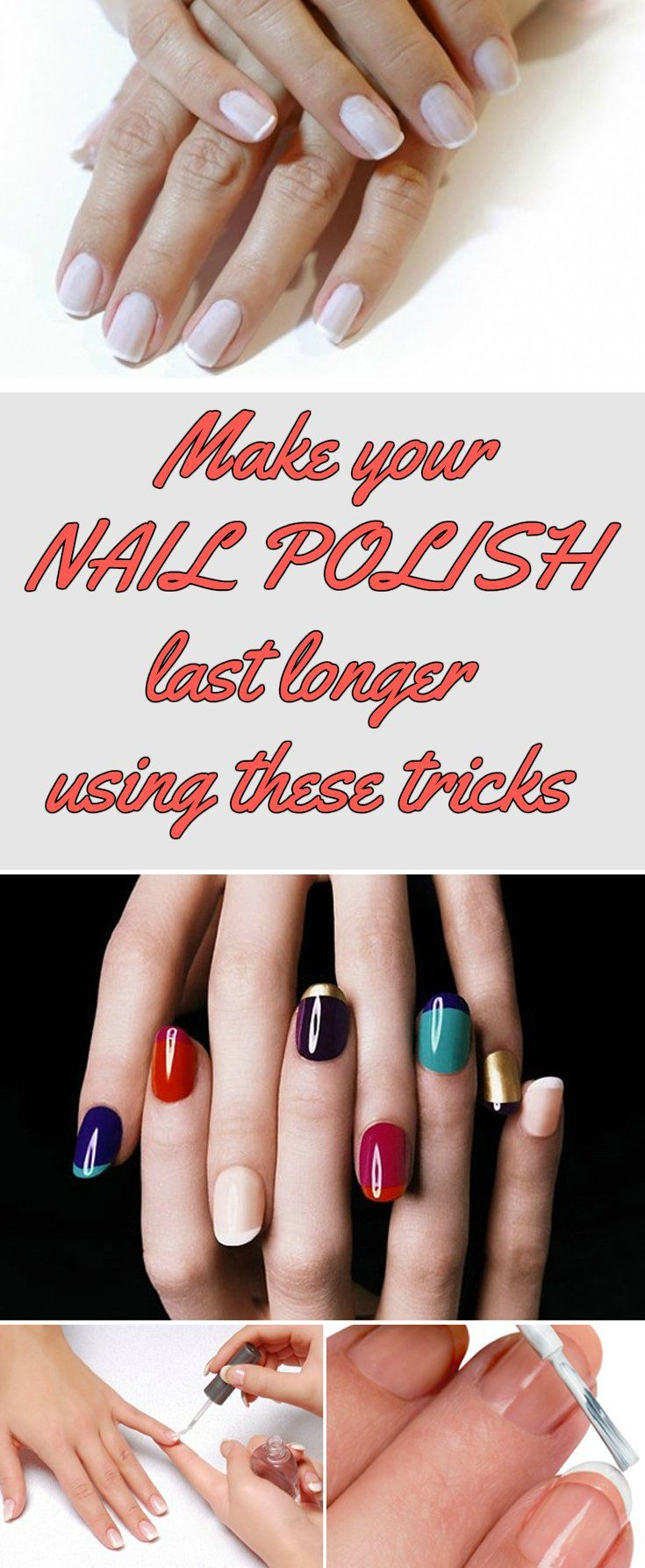 Make Your Nail Polish Last Longer Using These Tricks Realbeautytips Net Long Lasting Nail Polish Nail Polish Manicure