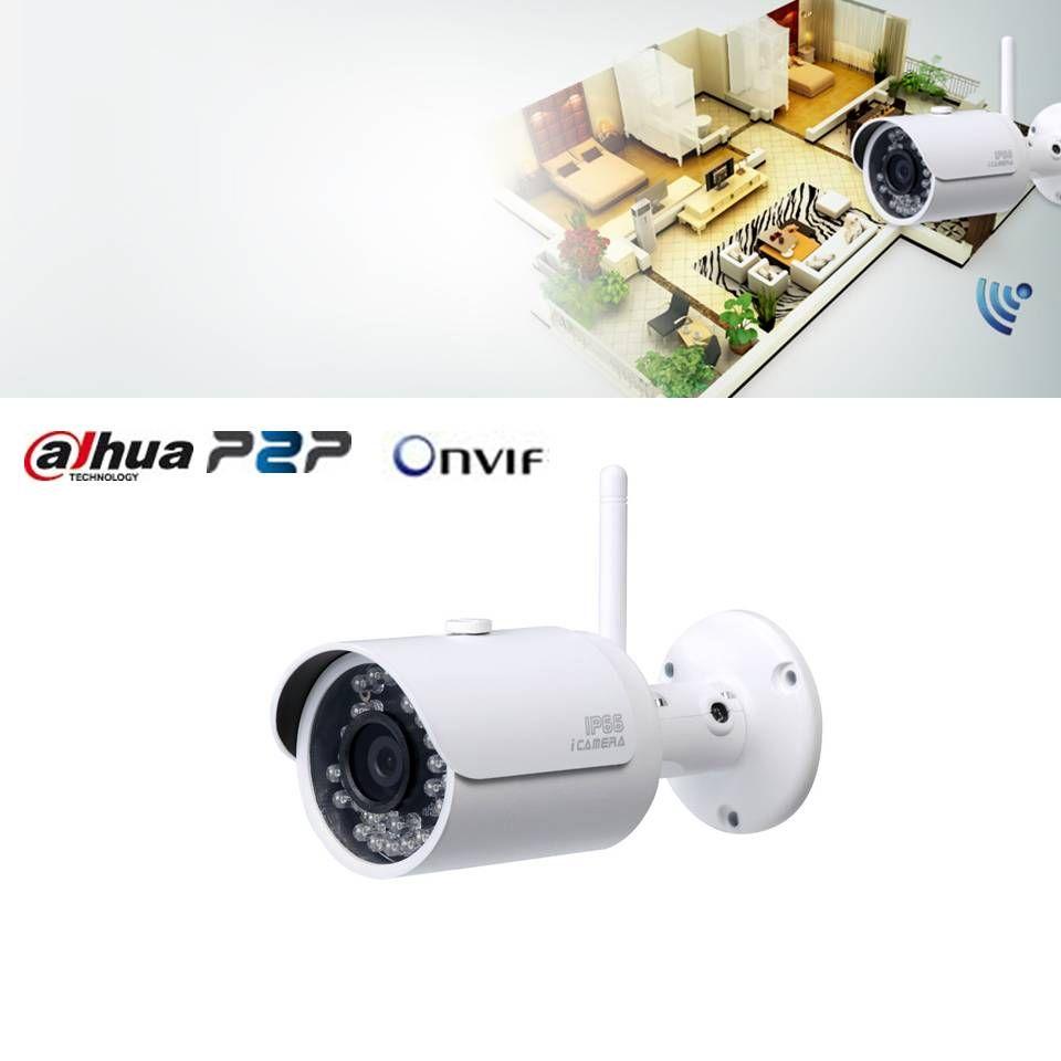 Cámara Dahua IP Wifi para conectar sin cables a Grabadores NVR como el 5896.