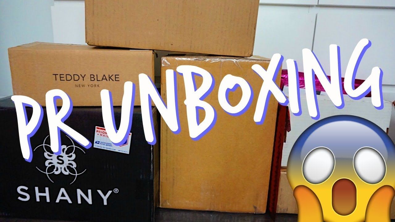 Pr Unboxing Haul Ft Covergirl,Teddy Blake,Benefit & More