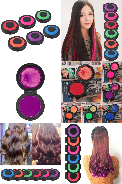 Visit To Buy Professional Temporary Hair Dye Powder Cake Styling