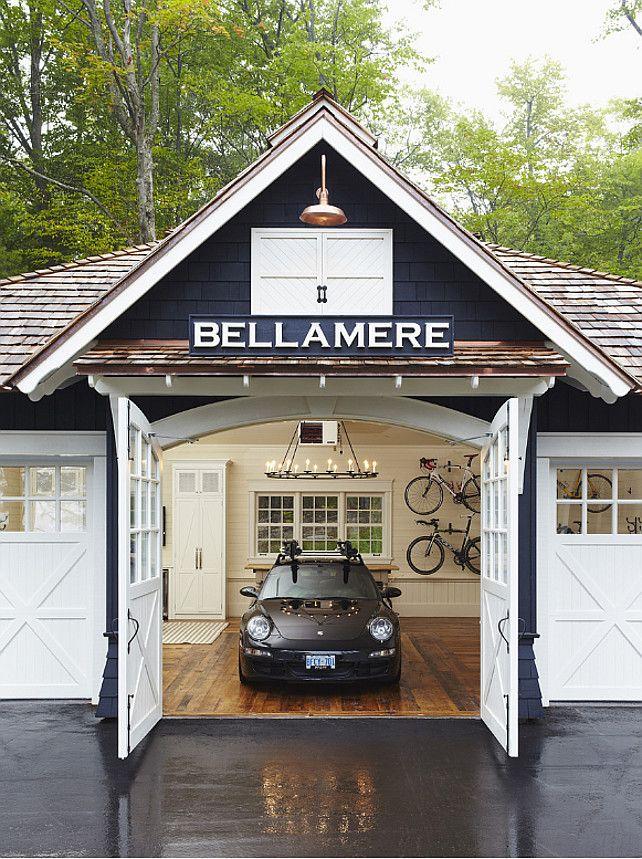 Carport ausbauen mit parkett und diesen toren bootshaus garage haus und badezimmer design - Gartenhaus ausbauen ...