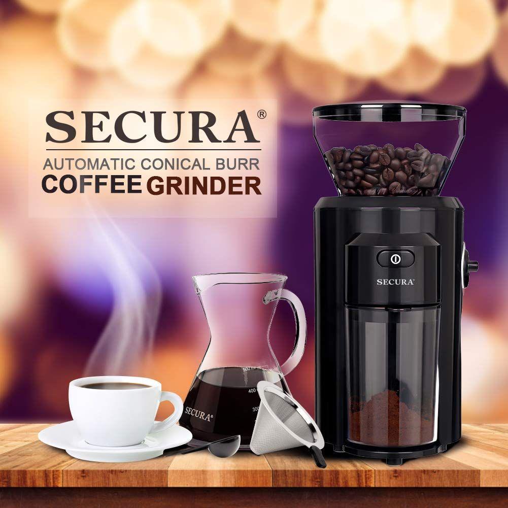Coffee Grinder Burr coffee grinder, Coffee grinder, Grinder