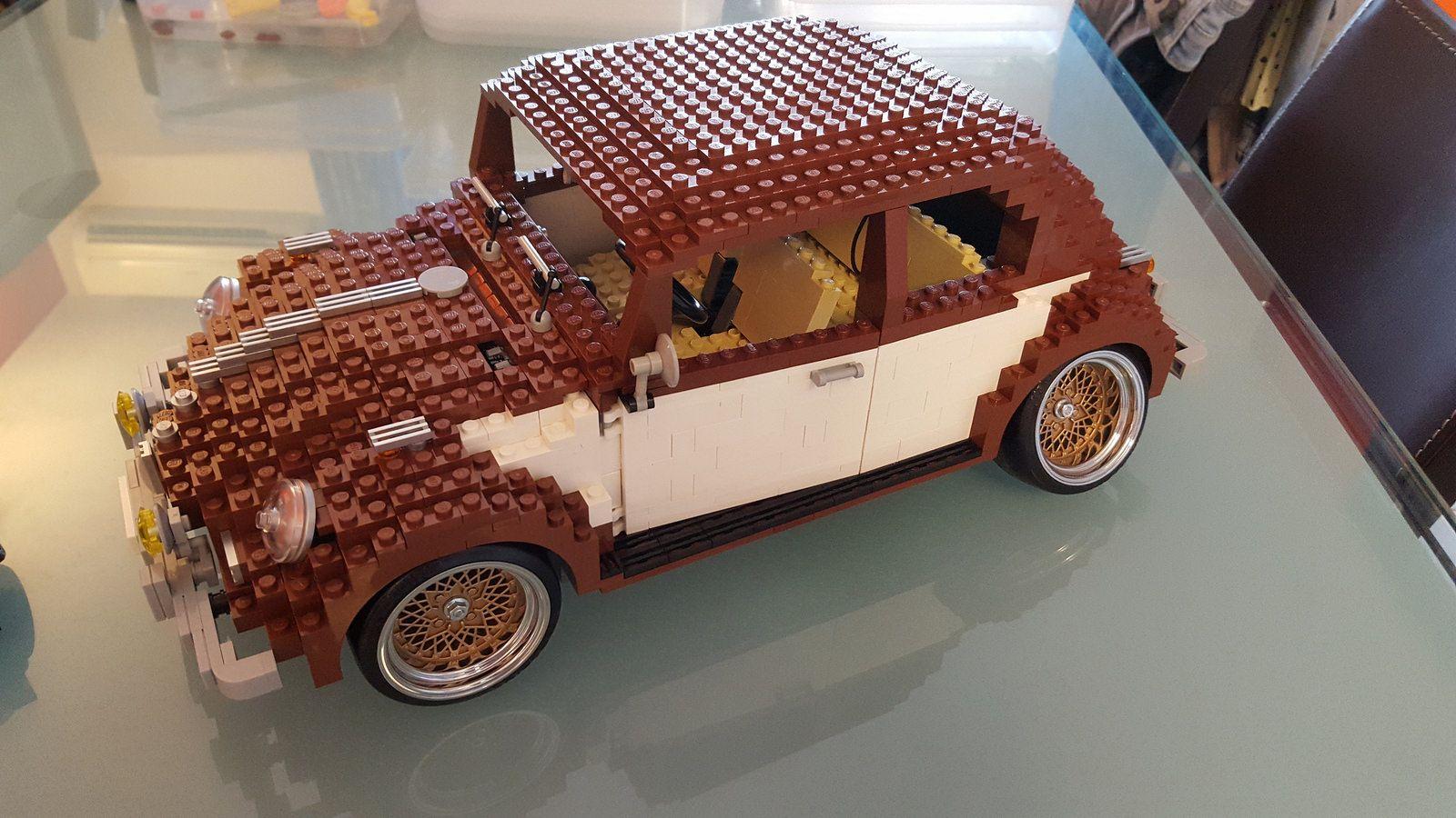 Bug Lego Brown Low Vw Volkswagen Beetle Vw Volkswagen