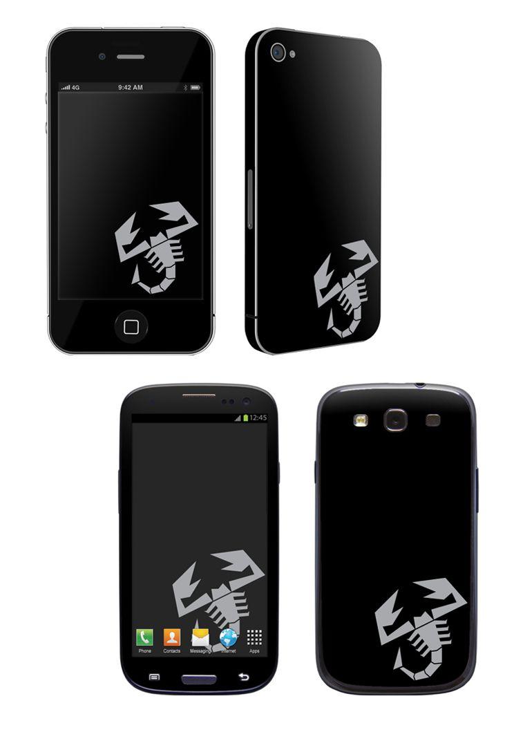 ABARTH Scorpion Phone Skinz Fiat, Merchandise, Fiat 500