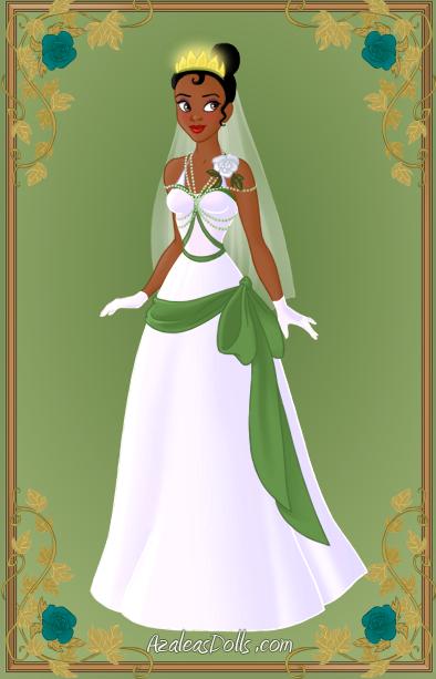 Tiana { Wedding Dress } by kawaiibrit on deviantART   Disney ...