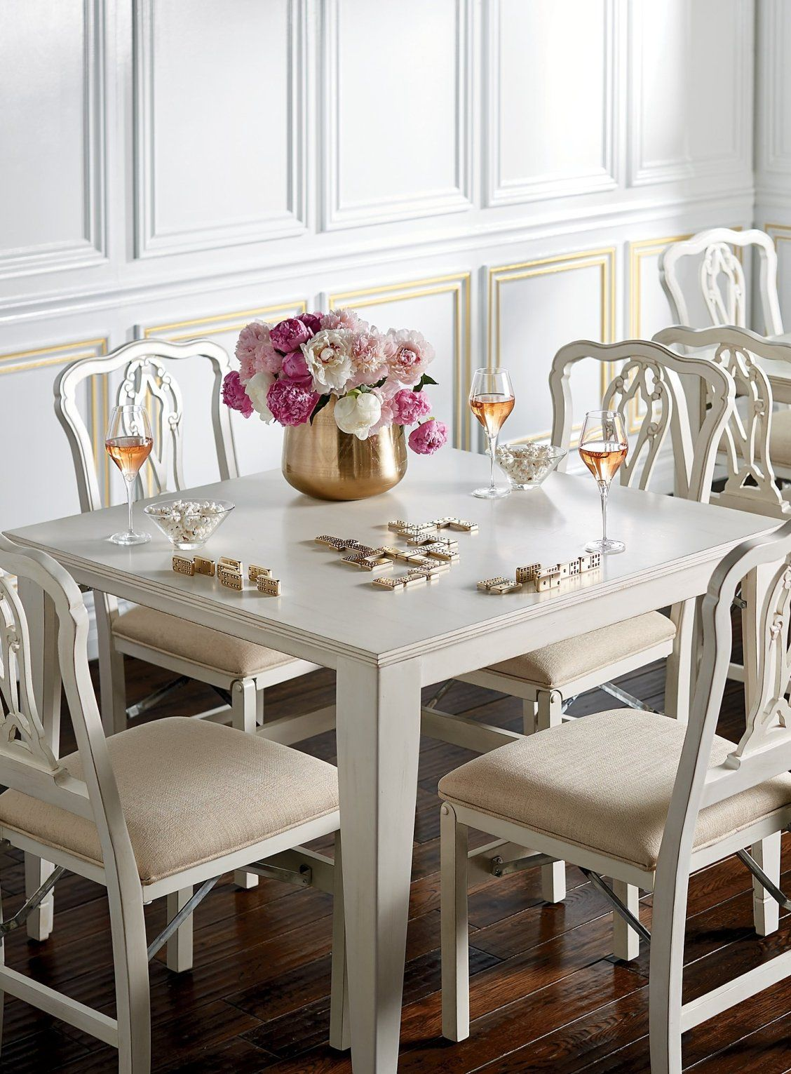 Folding Table and Dining Chairs | Folding dining chairs ...