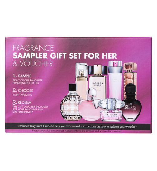 Fragrance Sampler Gift Set, Our favourite fragrances for her ...
