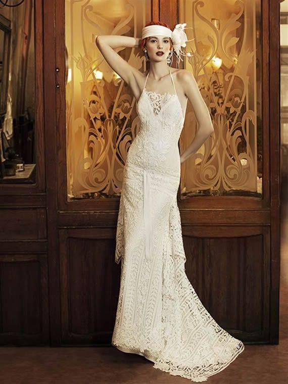 Old Lace Wedding Dress
