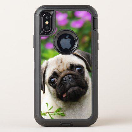 pug dog face iphone case