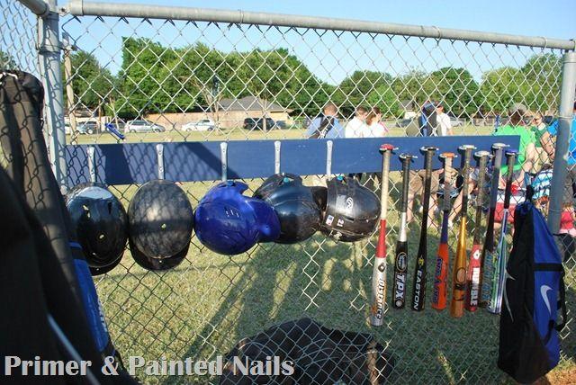 Baseball Dugout Bedroom Designs: Baseball Dugout Organizer... For The Kiddos