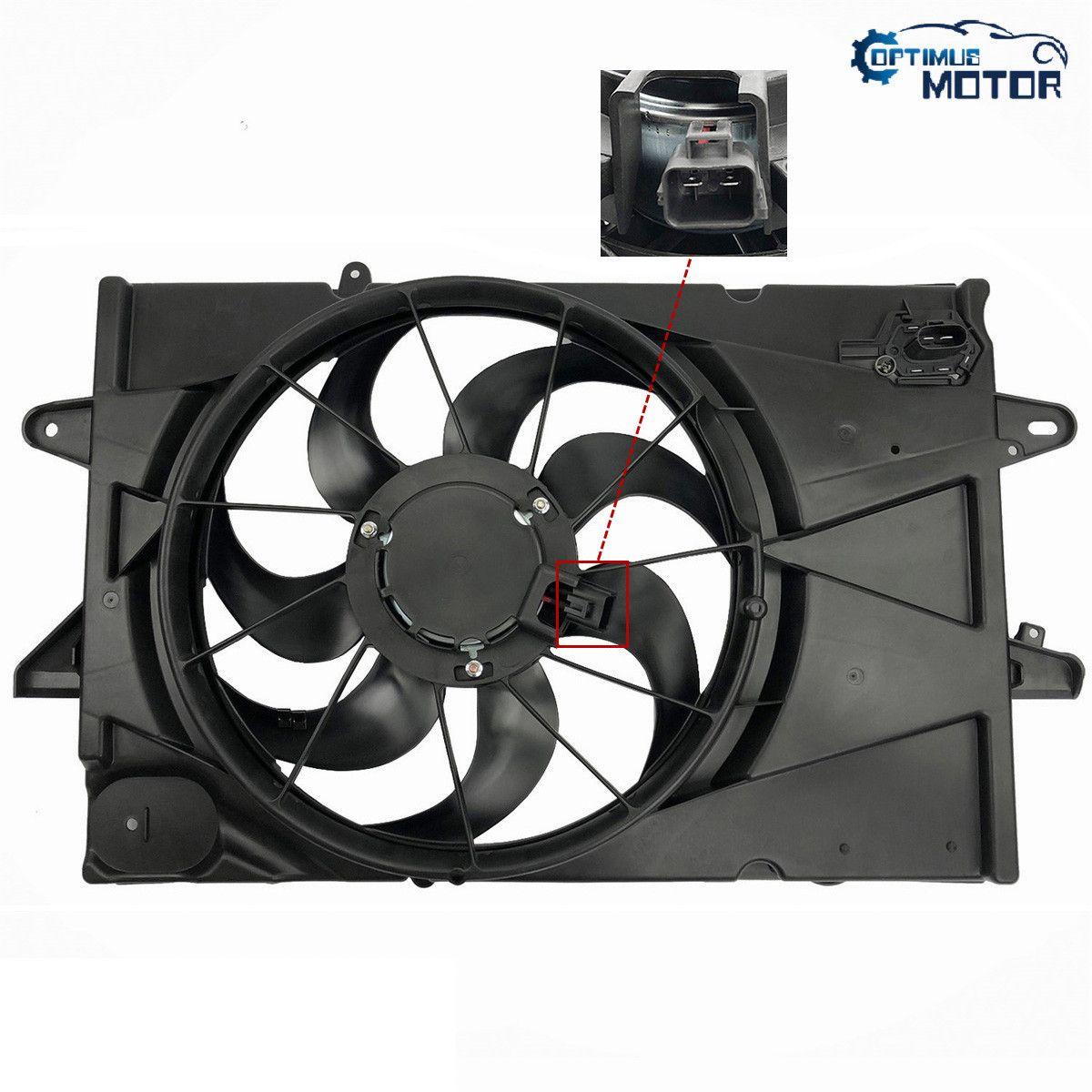 Radiator Condenser Fan for Chevrolet Malibu 13-15 Malibu Limited GM3115249 2.5L
