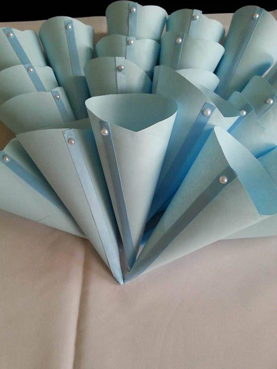 Blue wedding cones wedding petal cones confetti wedding cones wedding confetti cones wedding petal cones confetti wedding cones paper cones paper mightylinksfo