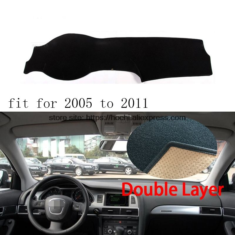 For Audi A6 A6L 20052016 Double layer Silica gel Car