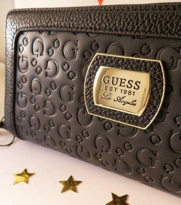 disponibilidad en el reino unido disfruta de precio barato duradero en uso Monedero Guess Daisy logo large Marrón Chocolate | Carteras ...
