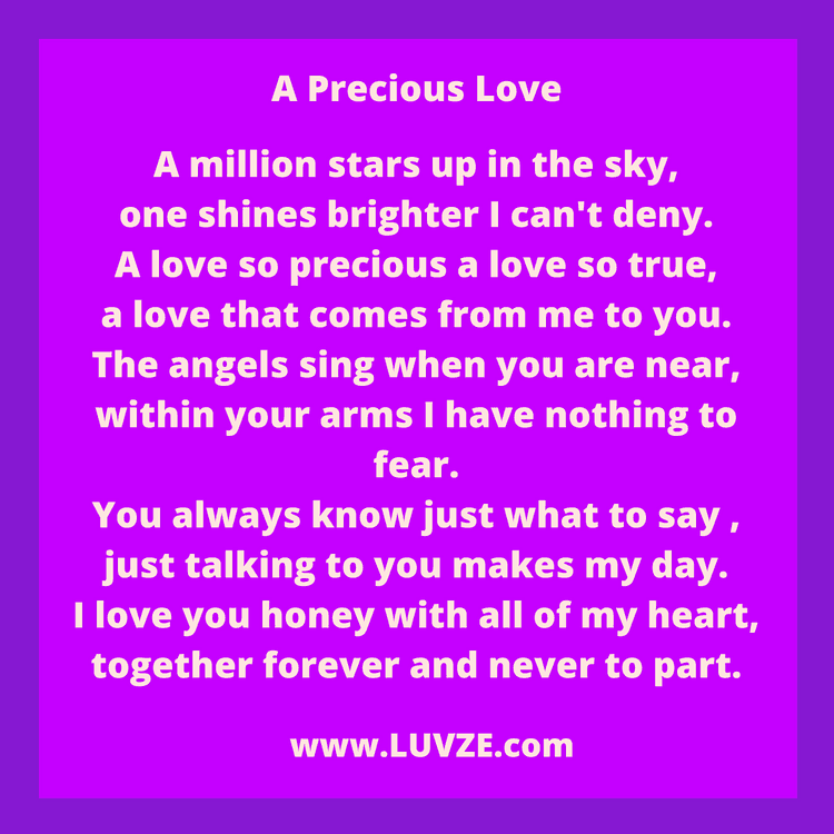 34 Cute Love Poems For Him From The Heart (With images ... I Love You So Much It Hurts Poems
