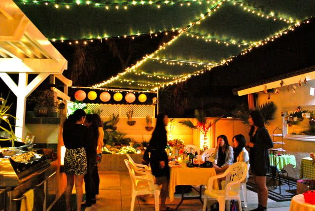 outdoor party I threw for my best friend last summer!!