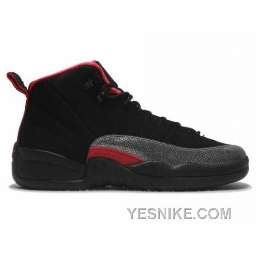 Big Discount 66 OFF Air Jordan Retro 12 Black Siren Red 410815008 For Sale