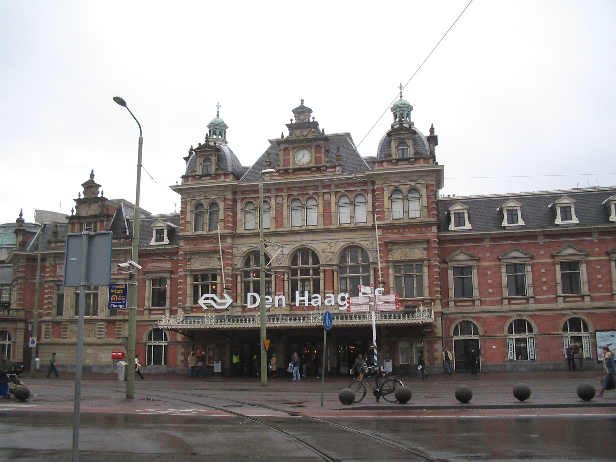 The Hague Holland, Train station and Netherlands