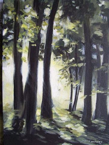 Bosque pintura