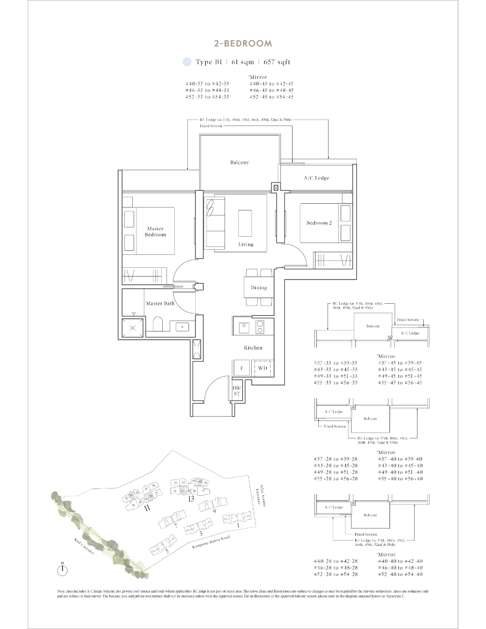 Site And Floor Plan Avenue South Residence Official Website Bernard Koh Sustainable Building Design Residences Site Plan