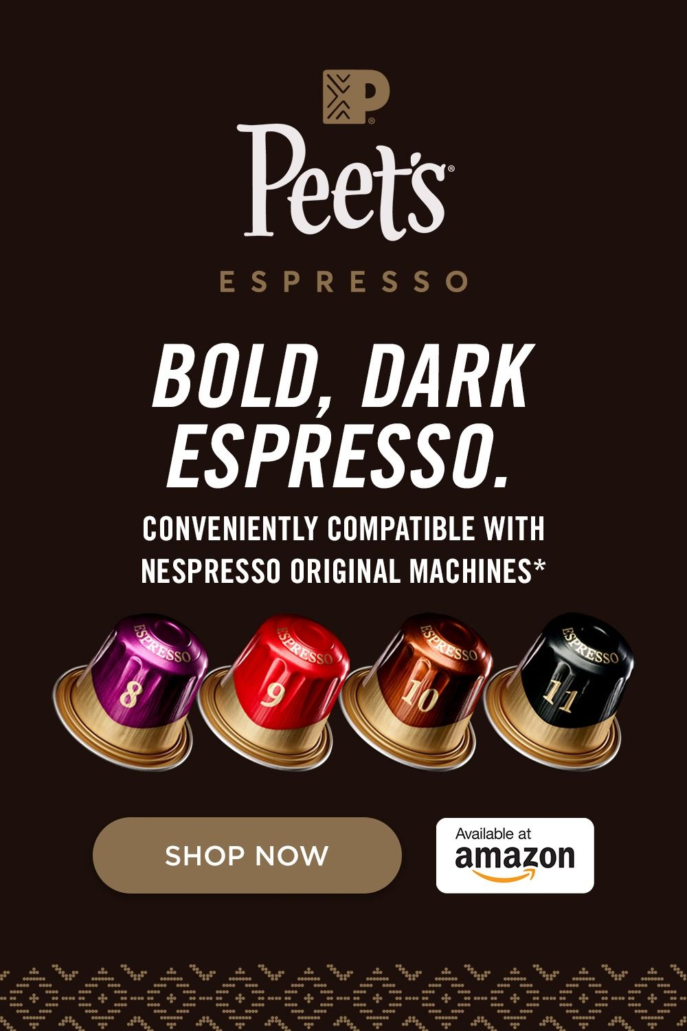 Delve into a deeper kind of dark with the complexity and