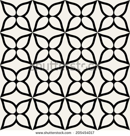 floral vector geometric background modern seamless pattern with rh pinterest com free vector geometric line patterns simple geometric vector patterns