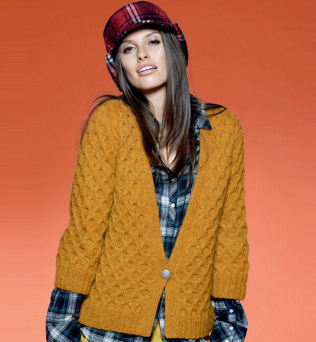 Mod le gilet maille fantaisie femme mod les tricot femme phildar maille pinterest - Point fantaisie tricot phildar ...