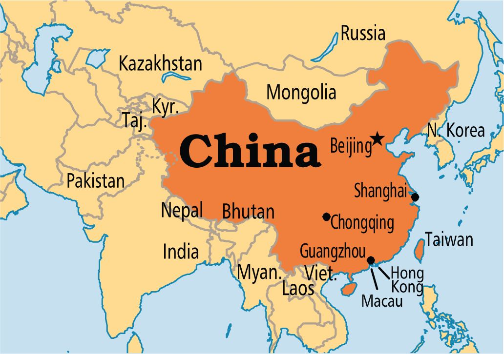 China is a sovereign state located in East Asia It is the worlds