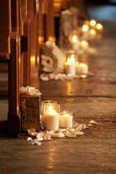 diy church wedding decor   ... decor, pastel pink aisle decor for church wedding, DIY wedding ideas