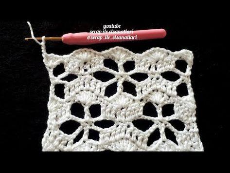 Youtube Häkelmuster Pinterest Tricot Tricot Et Crochet Und