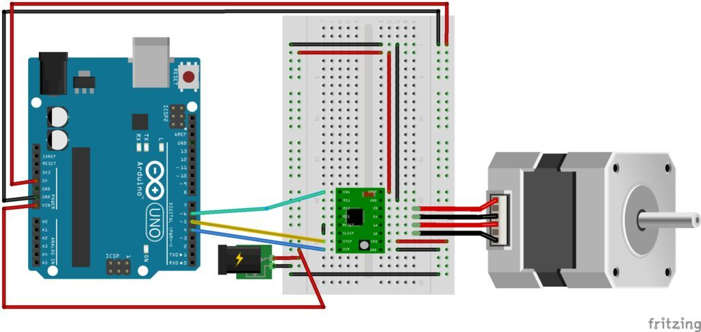 There are several ways to make a Stepper Motor run, and the best way will depend on the application, the motor and the electronics available. For running a stepper motor from an Arduino these are the main ways to go1. A ULN2003 Darlington driver board. Typically sold with small geared steppers this requires four digital pins and the Arduino sketch needs to directly drive each coil2. A driver board/shield with a constant voltage driver, such as the Adafruit Motor Shield. This runs over SPI…