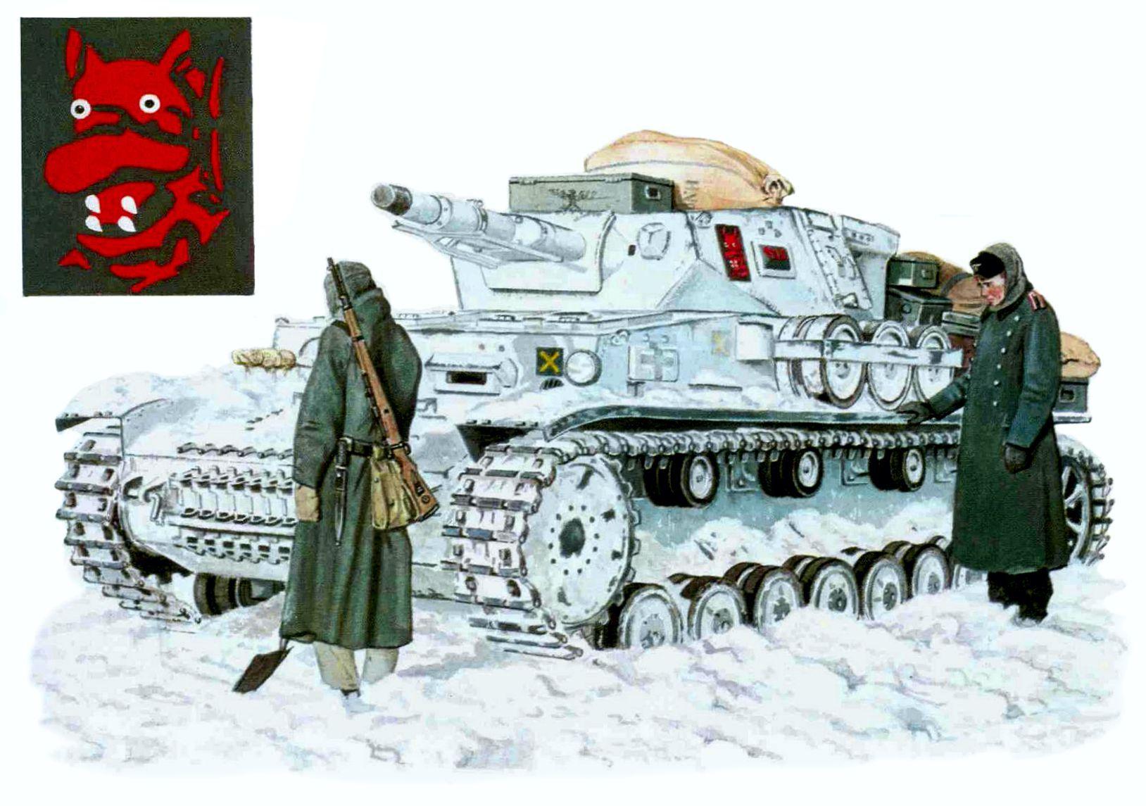Panzer IV Ausf. F, 31.° Regimiento Panzer, 5.ª Panzerdivision, Rusia ...