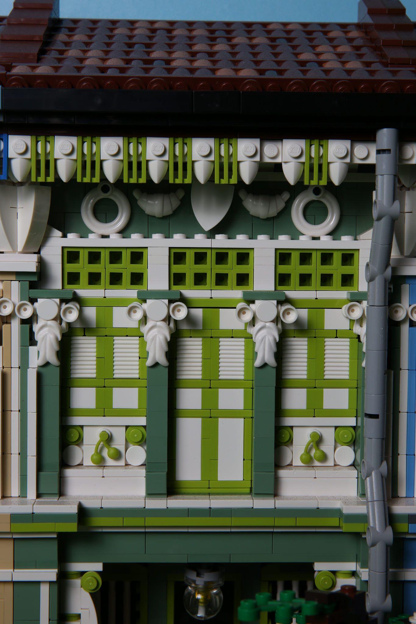 Joo Chiat Koon Seng Road Lego Architecture Lego Projects Cool Lego Creations