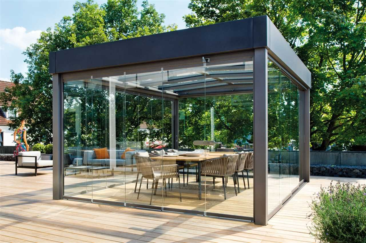 solarlux - terrassenüberdachung   terrassendach   pergola, Gartengerate ideen