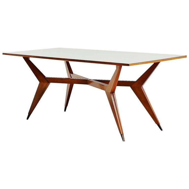Ico Parisi Dining Table Pre Mim Production 1950 Dining Table