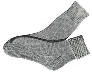 Children S Socks Knit Pattern Originally Published In 2 Needle Socks